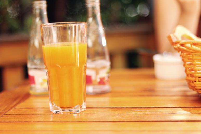 orangeジュース