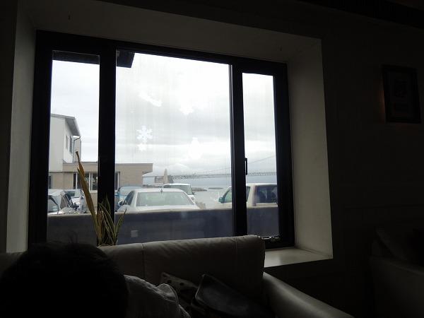 サウスワード窓からの景色