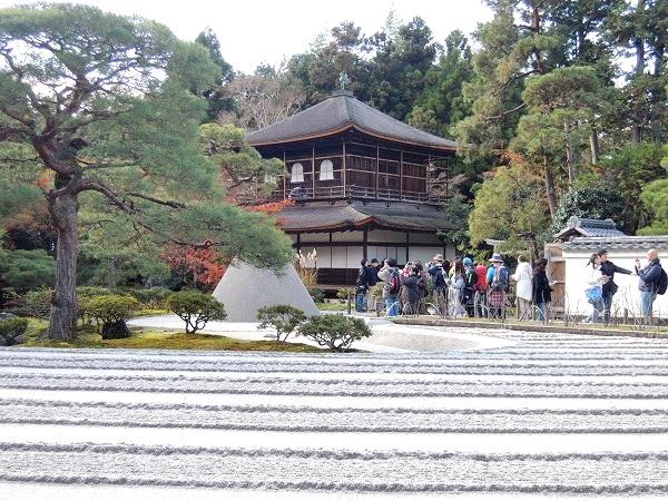 銀閣寺と庭