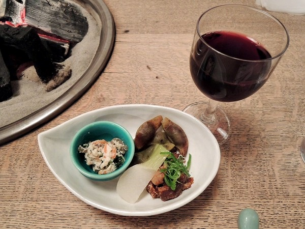 前菜 ワイン