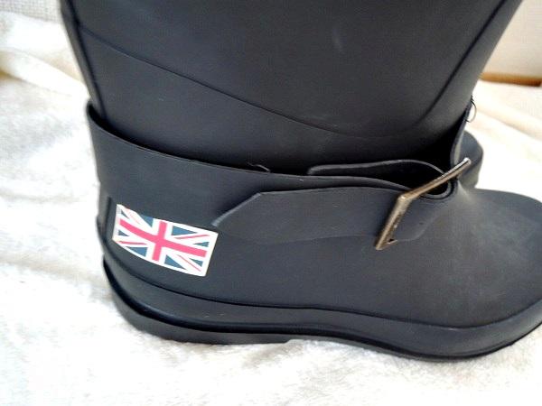 踵のイギリス国旗