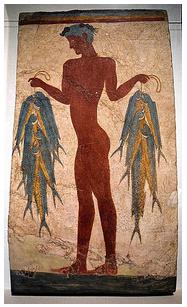 漁夫のフレスコ画