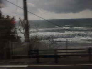 スーパーはくと 車窓からの日本海