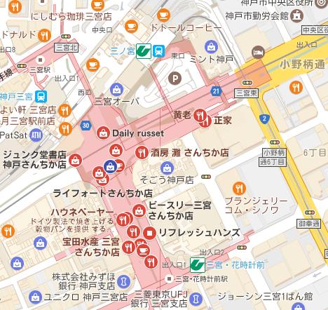 デイリーラシットmap