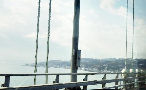 大橋から見る淡路島