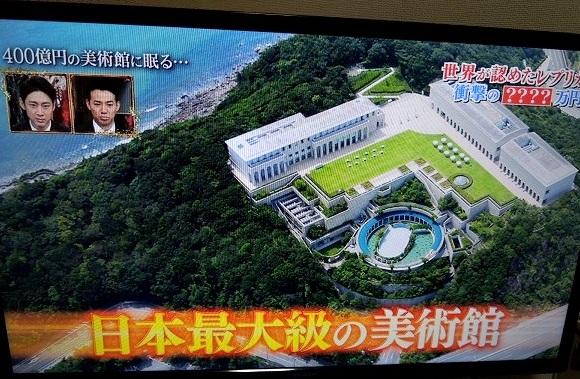 大塚国際美術館 上空からの全景