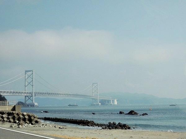徳島から見る大鳴門橋
