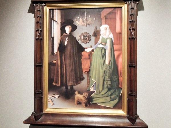アルノルフィーニ夫婦の肖像