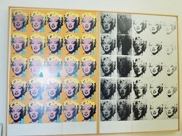 マリリンの2連画