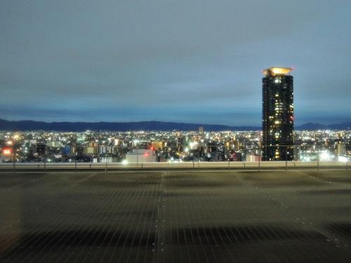 あべのハルカス16階からの夜景