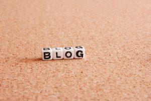 ブログと書いてあるサイコロ