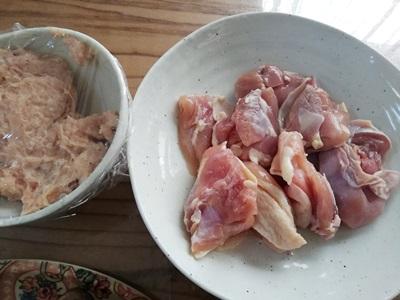 若杉プレミアム水炊き もも肉とつくね