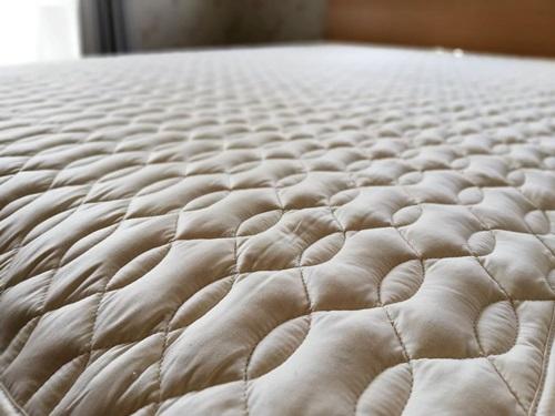 西川洗えるベッドパット/ウール