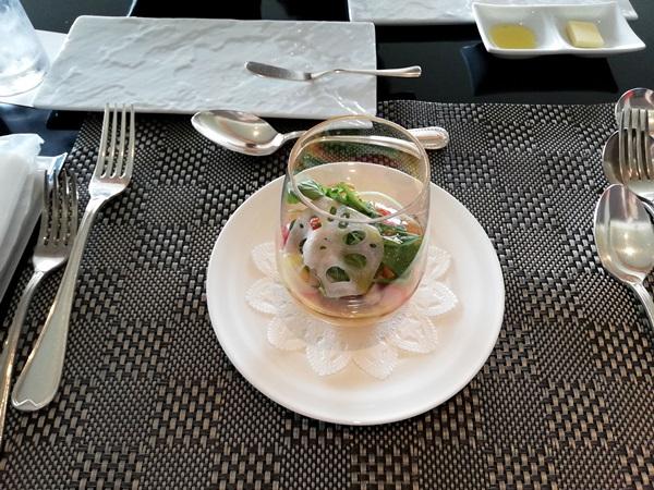 海の幸と秋野菜のクープ・サラダ