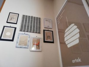 アルテックのポスターとポストカード