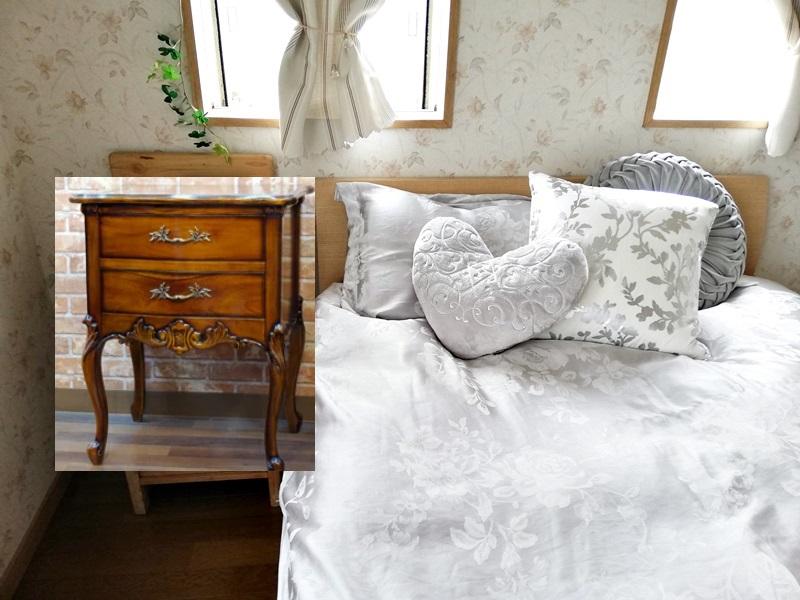 寝室の合成写真