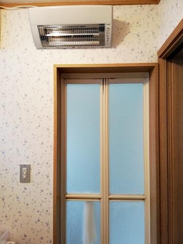 我が家の中折れ浴室ドア