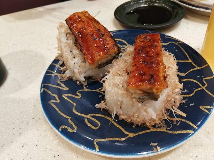うなぎの寿司