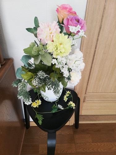 【KYRRE】シルレに造花を飾ってみた