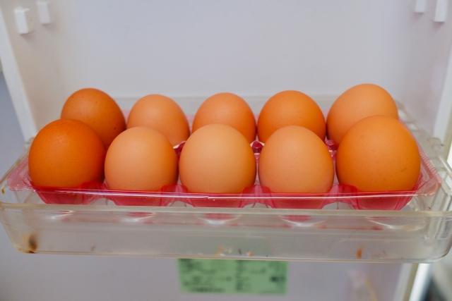 冷蔵庫の卵